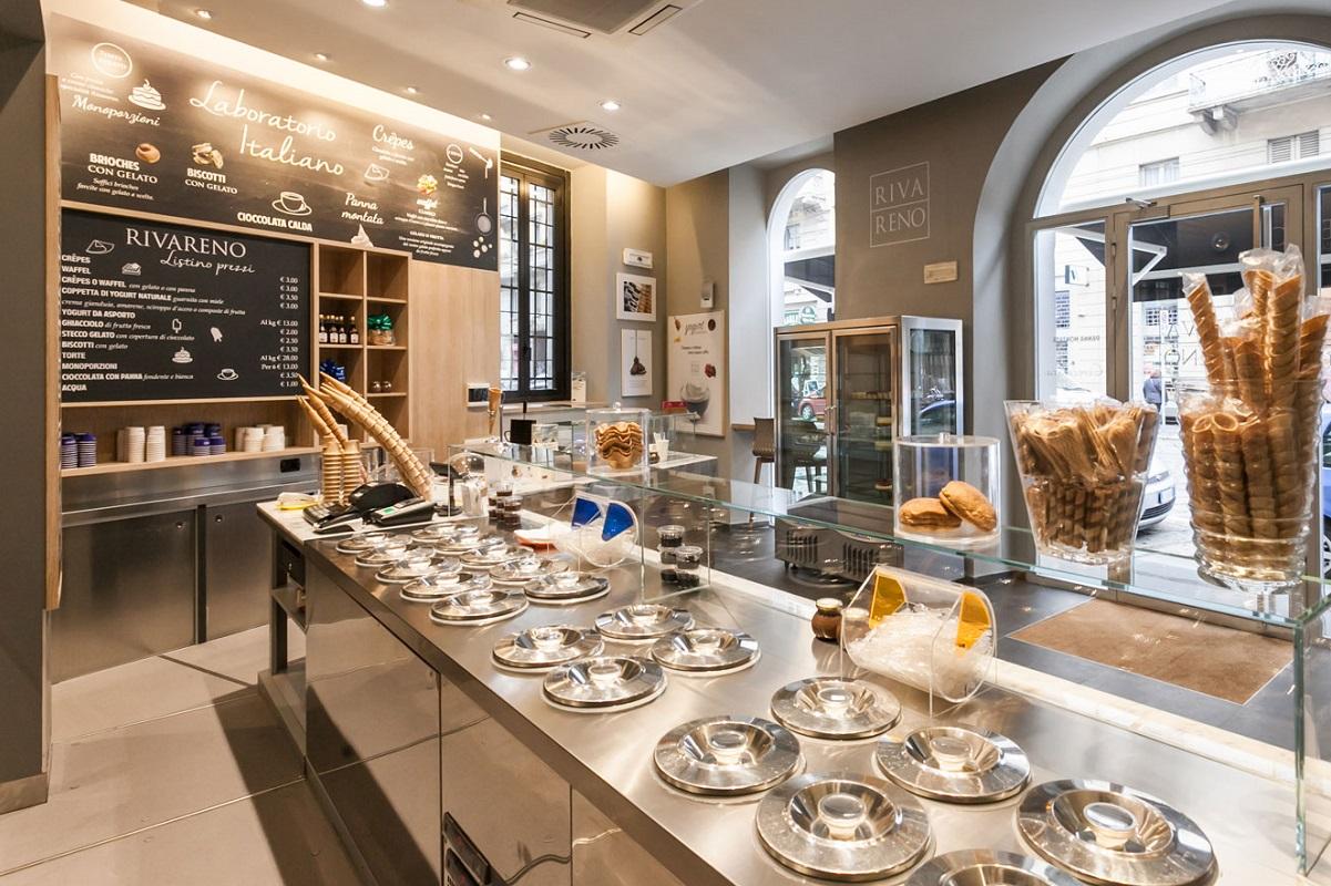 Rivareno - gelaterie buone a Milano