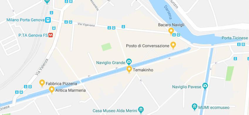 Dove mangiare sui Navigli - Fabbrica Pizzeria collage