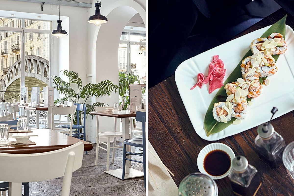 Dove mangiare sui Navigli - Temakinho Navigli collage