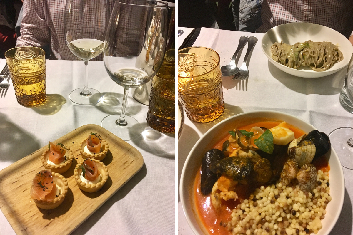 Mangiare in Isola Milano Sulle Nuvole fregola
