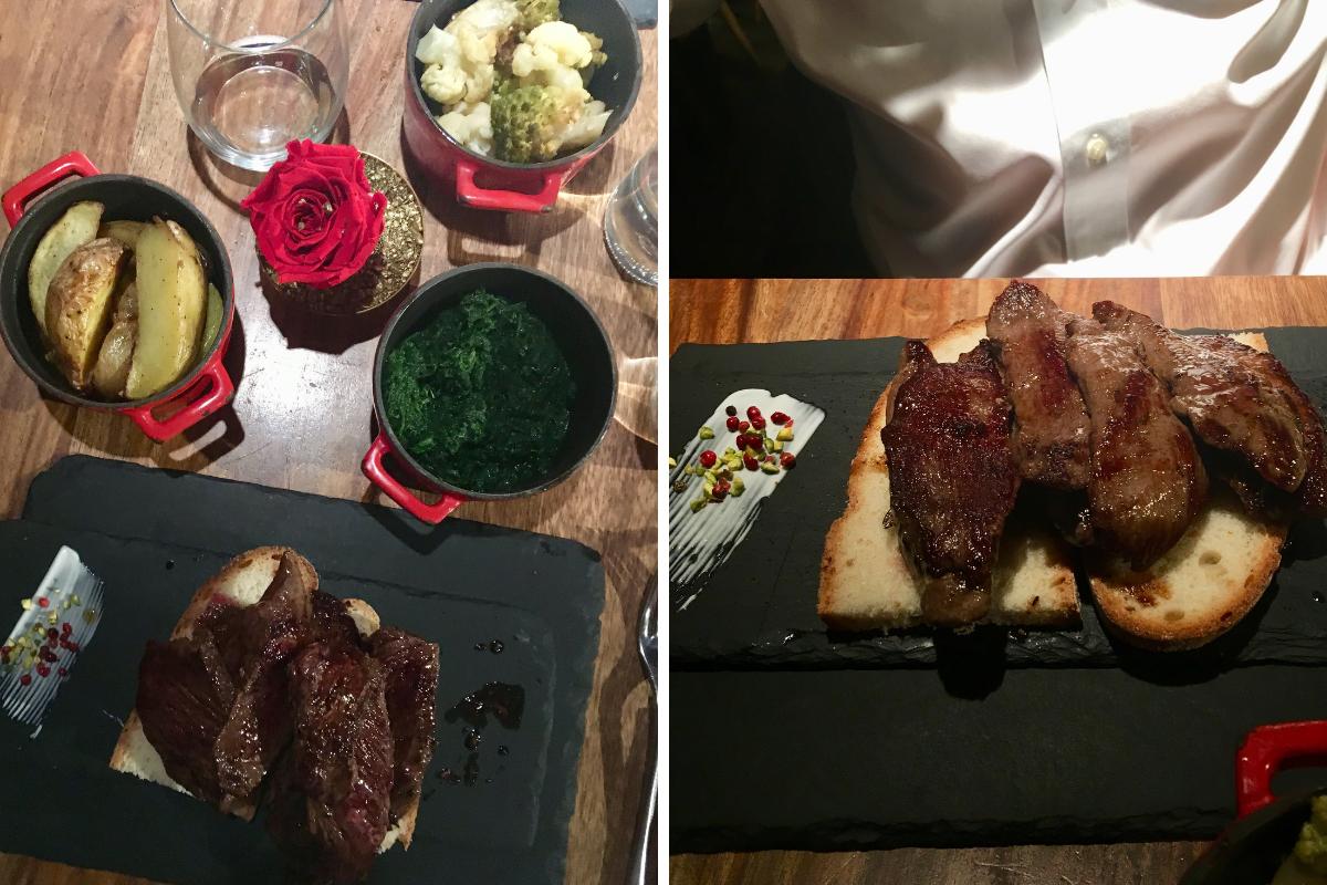 Filetteria Italiana Milano mangiare carne - cammello e cinghiale