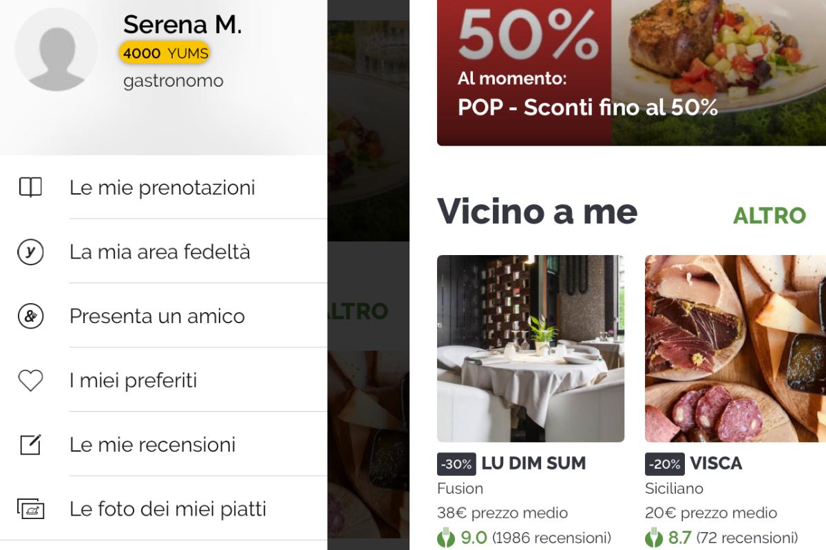 app TheFork mangiare a Milano spendendo poco 1
