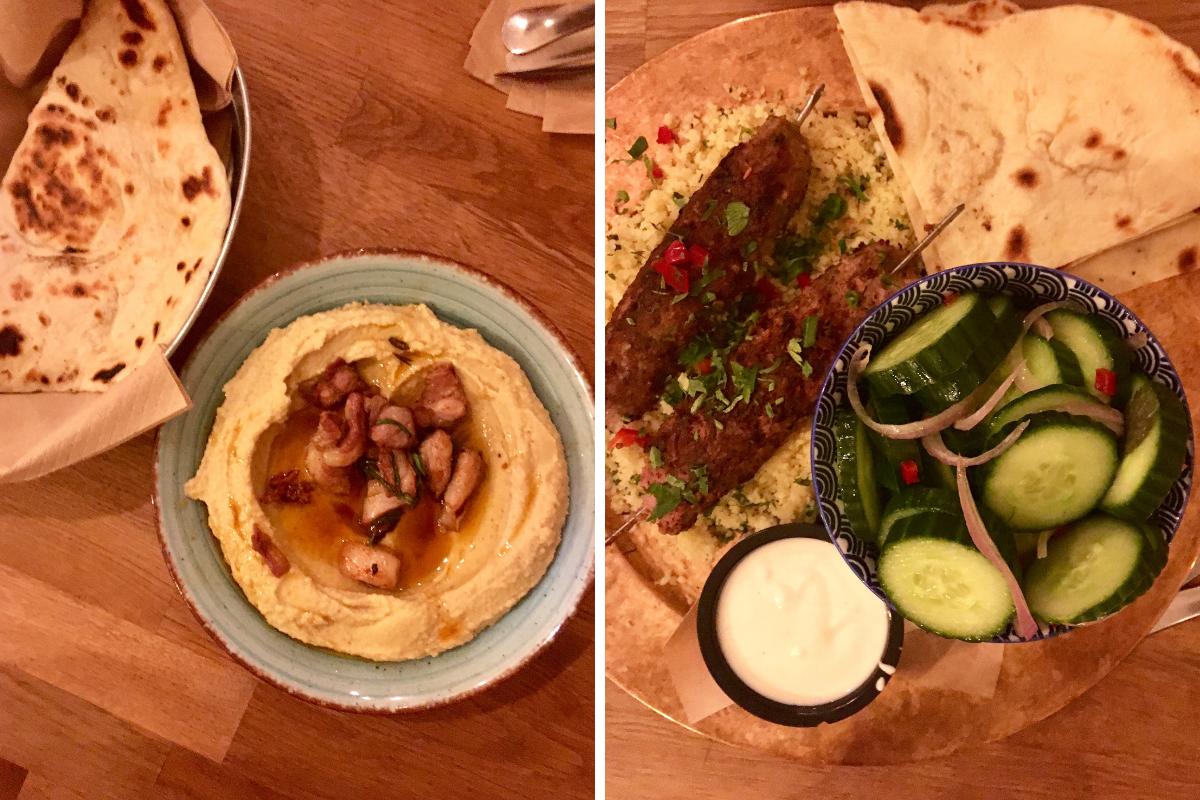 Dove mangiare a Sofia - Made in Home piatti