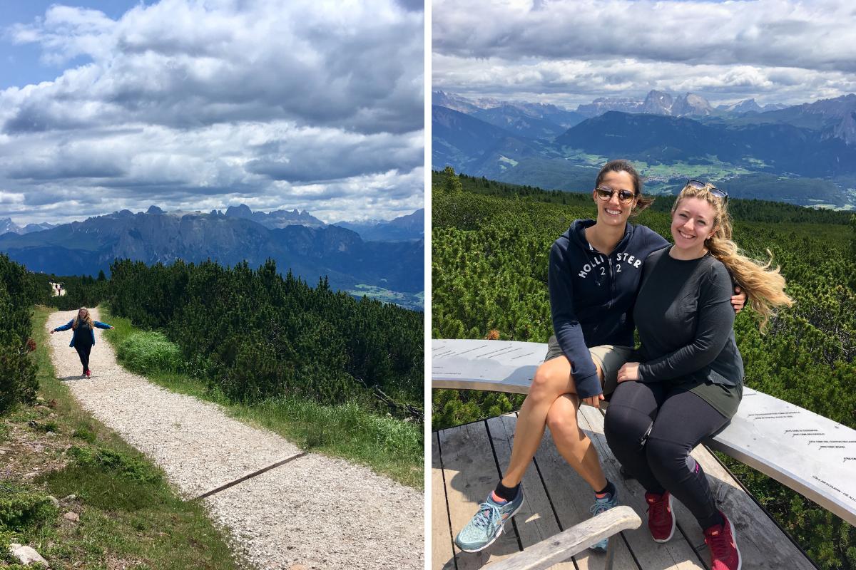 Due giorni a Collalbo (Bolzano) cosa vedere e dove mangiare - Passeggiata panoramica Renon