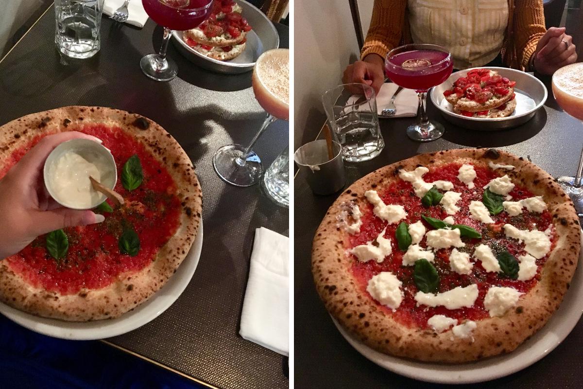 Cocktail e pizza (premiata) da Dry Milano in via Solferino (1)