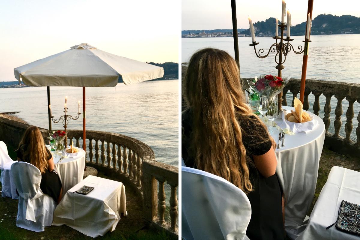 Cena romantica sul Lago Maggiore ad Angera (5)