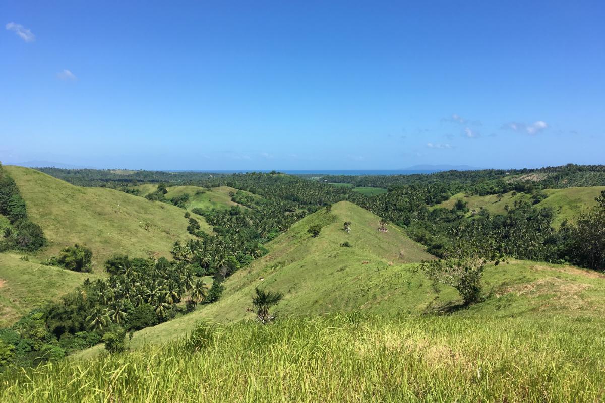 Visitare le Filippine - Bongabong hills (Mindoro)