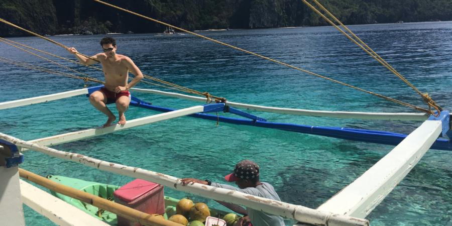 Visitare le Filippine - barca El nido