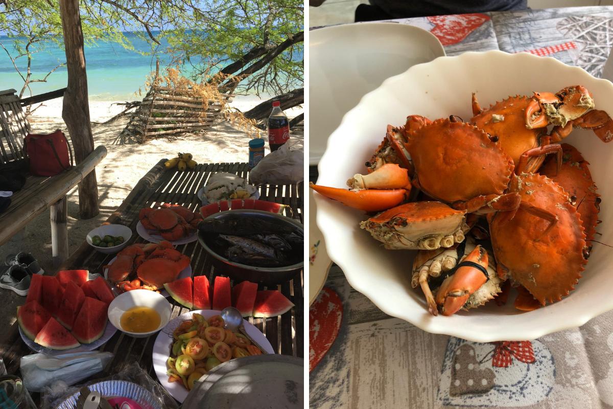 Visitare le Filippine - cibo