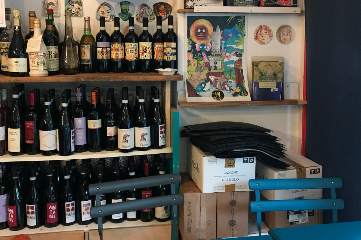 Librerie con cucina (5) LibrOfficina
