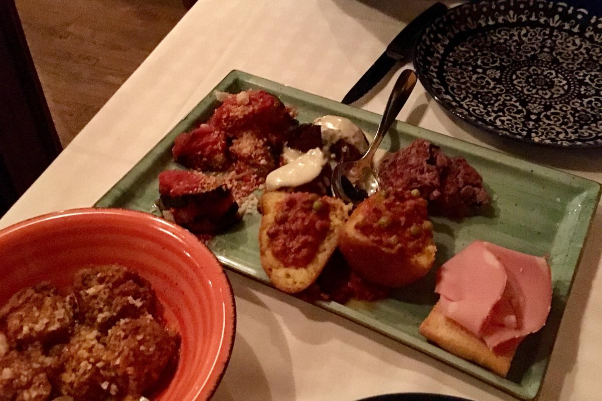 Bottega Sicula Carnezzeria ristorante di carne Corso Lodi Porta Romana - antipasto misto siciliano