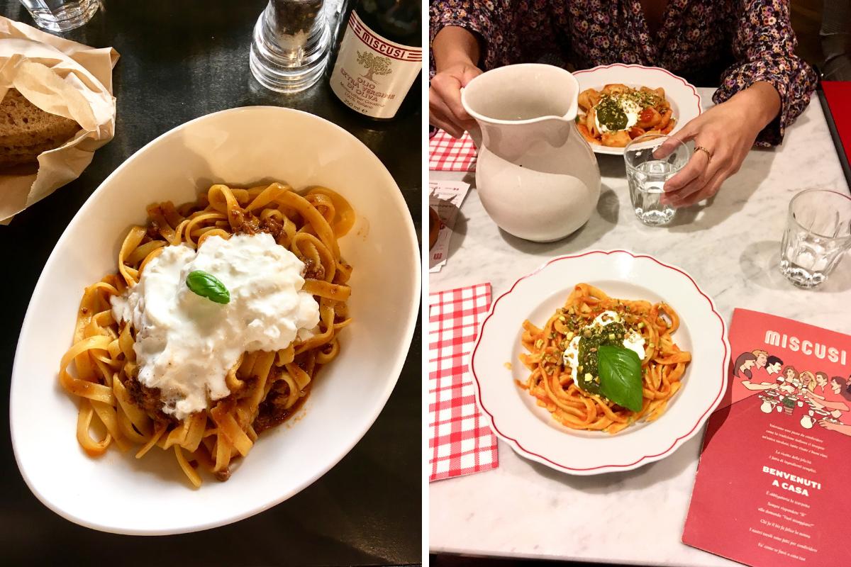 Ristoranti di pasta a Milano - MiScusi