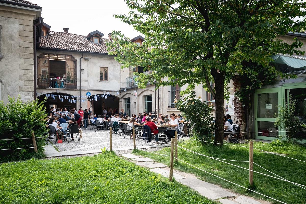 Mangiare all'aperto a Milano - Un Posto a Milano