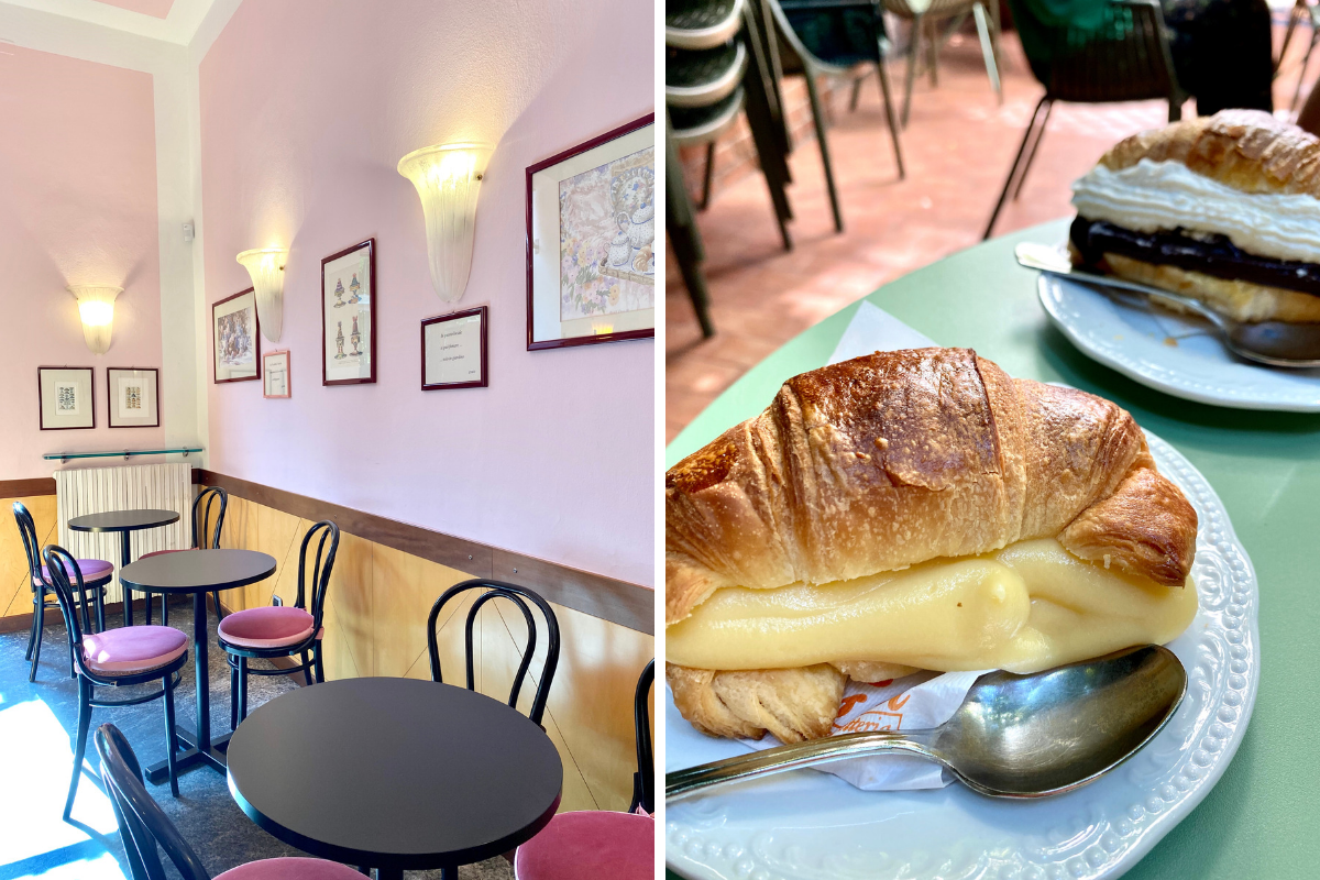Colazione a Milano dove fare merenda - brioche Sissi