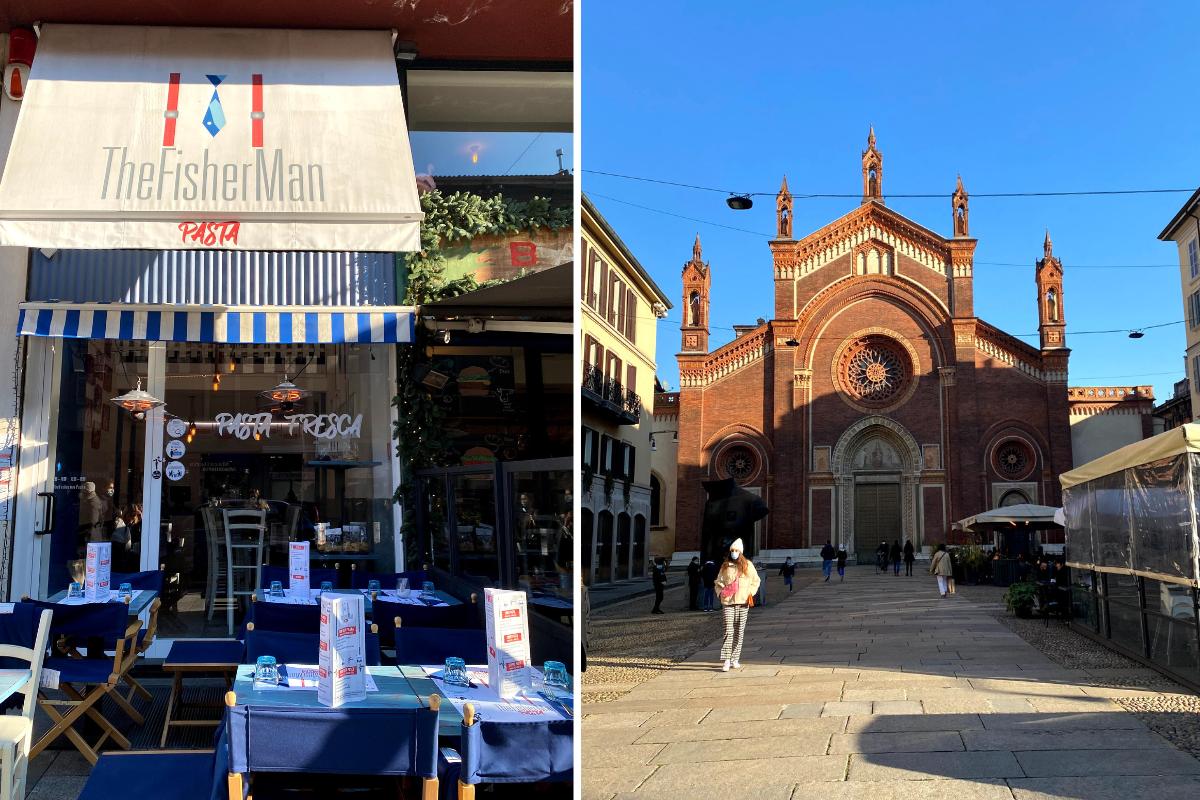 The Fisherman Pasta Milano Brera recensione (1)
