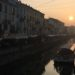 Dove mangiare sui Navigli - Navigli al tramonto